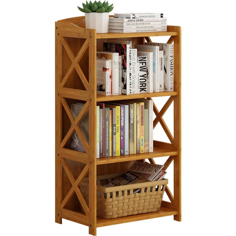 Natural 692986cm Bücherregal aus Holz Kompaktes multifunktionales 3-Tier-Regalregal, 69  29  86CM, Natur Regalständer zur Aufbewahrung von Holzregalen (Farbe   Natural, Größe   69  29  86cm)