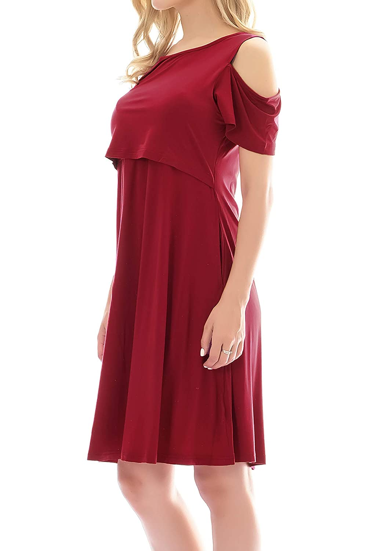 Smallshow Womens Maternity Dress