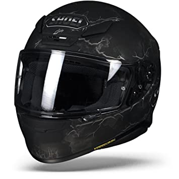 541a2ff0 SHOEI NXR RUTS TC-5 BLACK MATTE: Amazon.co.uk: Car & Motorbike