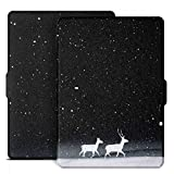 Ayotu Colorful Case for All-New Kindle(8th Generation 2016) E-Reader Auto Wake and Sleep Smart Protective Cover,Case for All-New Kindle (6' Display, 8th Gen 2016 Release),K8-9 The Amusing Deer