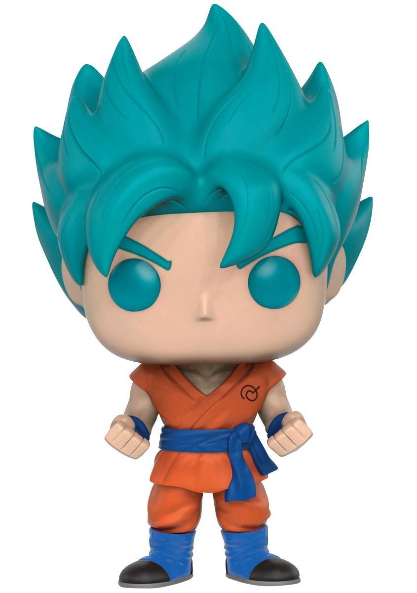 Funko Pop! Dragon Ball Z  Super Son Goku Azul Exclusivo