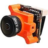 Runcam Micro Swift 2 Fpv Camera 600TVL 2.1MM lens Build in OSD 160 Degrees 5 to 36V NTSC for Multicopter Orange by Crazepony