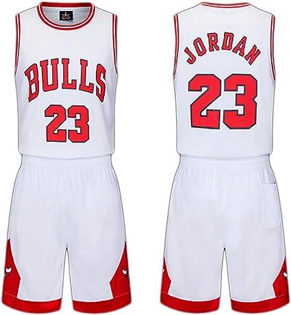 FILWS Maillots De Basket Ball Michael Jordan Enfants