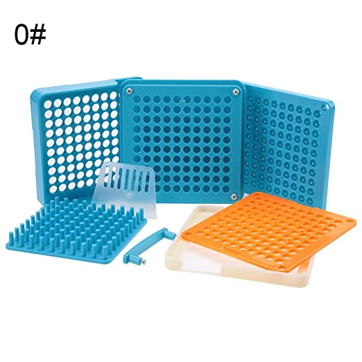100/agujeros C/ápsula con c/ápsula de spreizer Rellenador Filler manual C/ápsula Filler para vitaminas polvo C/ápsulas relleno Herramientas 00/#