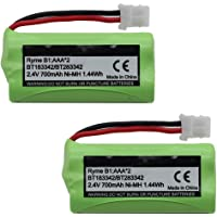 Mr.Batt BT183342 BT283342 BT162342 BT262342 BT166342 BT266342 Battery for Vtech CS6719 CS6419 CS6649 DS6151 AT&T CL4940 EL52300 Cordless Phone and Handset (2 Pack)