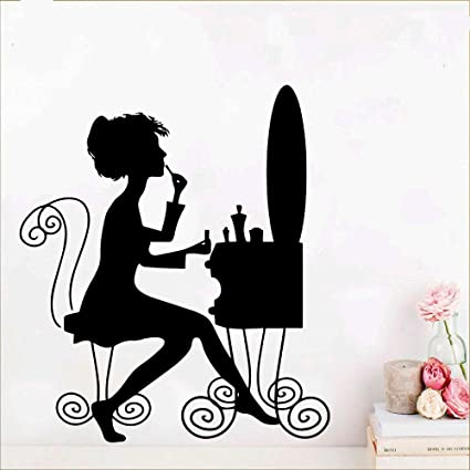 Ajcwhml Hermosa extraíble Arte Vinilo Pared Papel Pintado Mural ...