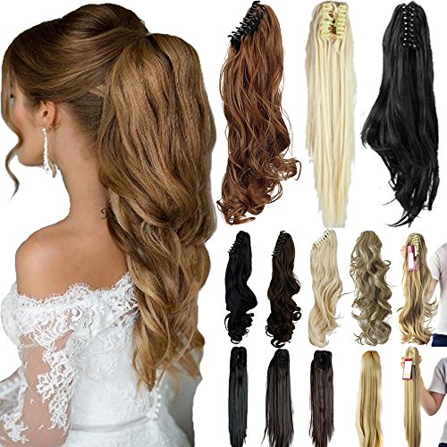 Delivery Straight Synthetic Extension Hairpiece