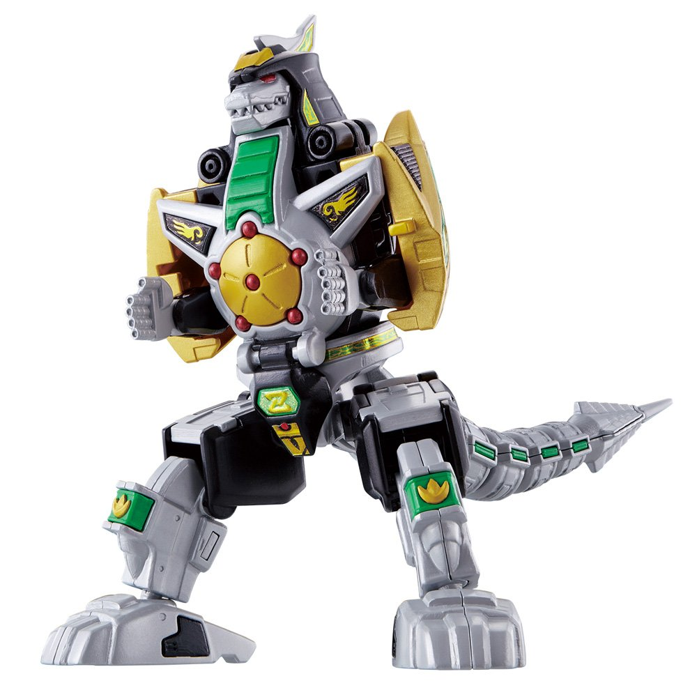 Bandai Hobby,Power Rangers Super Mini PLA Green Dragonzord Model Kit