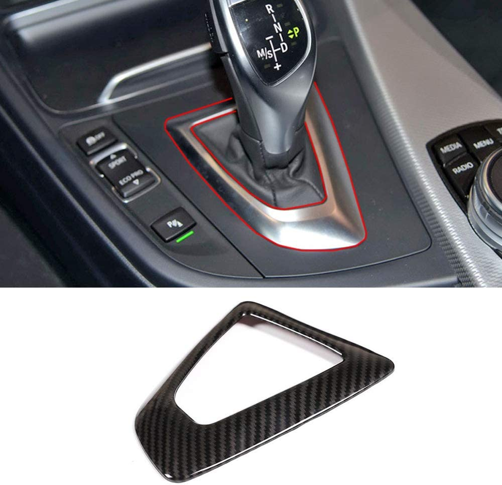 Indianapolis Mall Luocky Center Control Gear Shift Panel Fiber Ranking TOP9 Trim Cover Carbon S