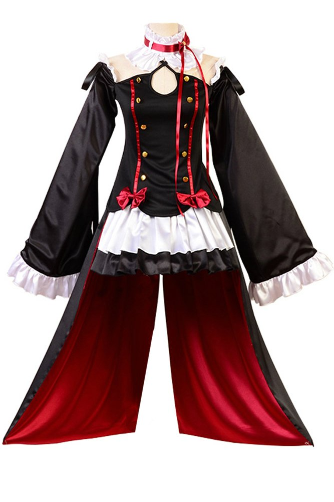 FUMAN Seraph of The End Vampires Krul Tepes Uniform Cosplay Kostüm S