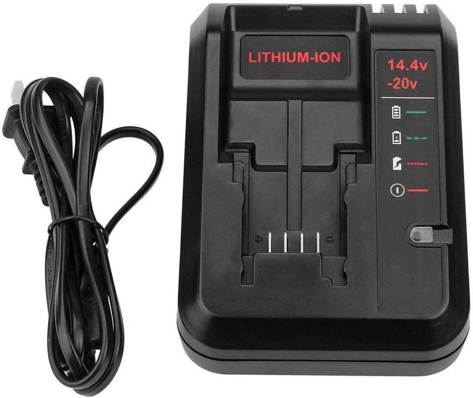 20V Replacement Charger for Black and Decker 20V Lithium Battery LB20 LBX20 LBXR20 LST220 PCC675L PCC680L