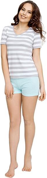 Utenos Eco Collection - Conjunto de pijama de algodón orgánico ...