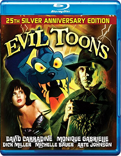 EVIL TOONS Blu Ray - Signed Limited Edition 1000 Copies by Retromedia Entertainment Group, Inc.