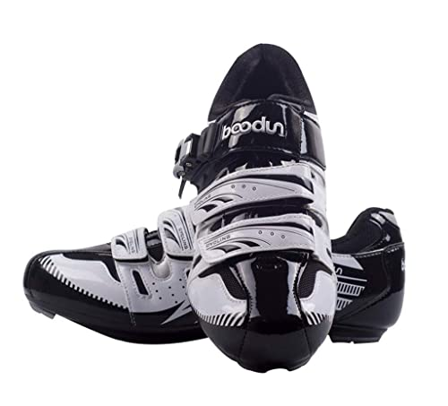 WWJQX Zapatillas de Ciclismo de Carretera para Hombre Zapatillas Deportivas Transpirables de Bicicleta autoblocante Antideslizantes Aire Libre: Amazon.es: ...
