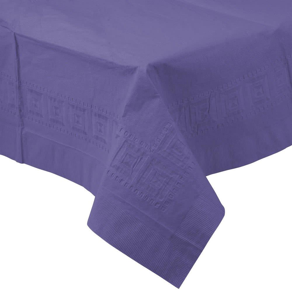 TableTop King 710232B 54インチ x 108インチ パープルティッシュ/ポリテーブルカバー 24ケース   B076ZNT3QH