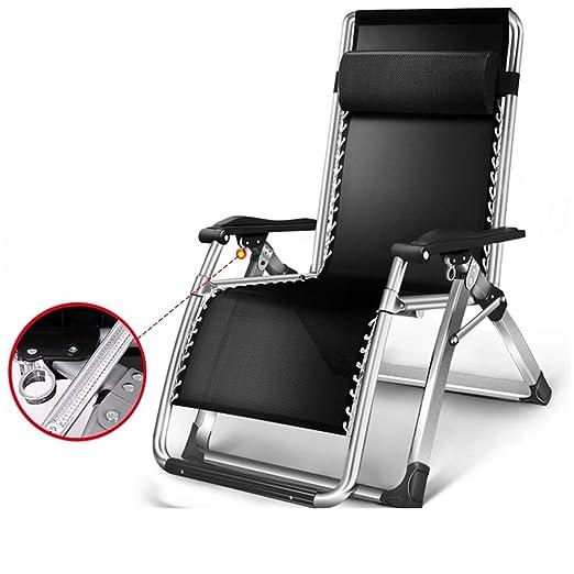 L-SYJH Tumbonas, sillas Plegables para el Almuerzo, sillones ...