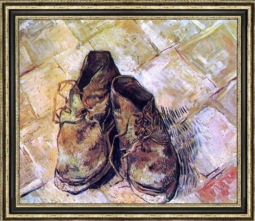 Vincent Van Gogh Pair Shoes - 9
