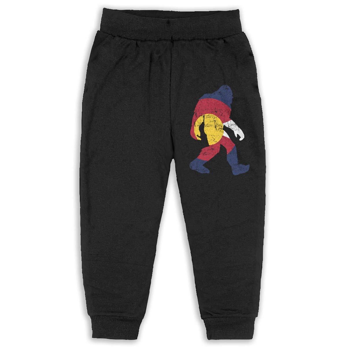 JOAPNWJ Children Cartoon Cotton Sweatpants Sport Jogger Elastic Pants