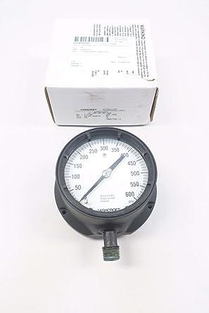 "Details about  /ASHCROFT 4-1//2/"" 0-5000 DURAGAUGE PRESSURE GAUGE 45-1377-RS-04B XLL"