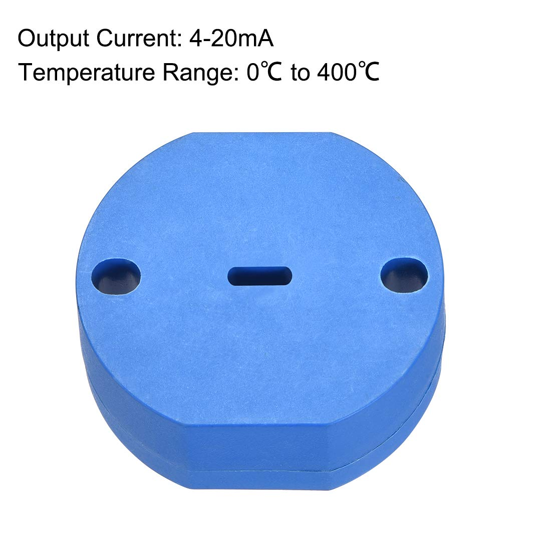 uxcell PT100 Temperature Sensor Transmitter 24V DC 4-20mA 0℃ to 400℃