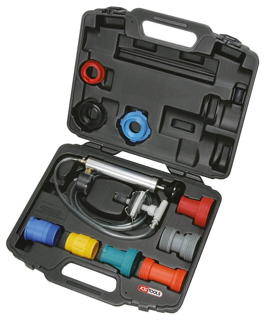 SK Hand Tool KS Tools Universal Cooling System Diagnostic Service Set, 12 pcs Clear by SK Hand Tool (Image #2)