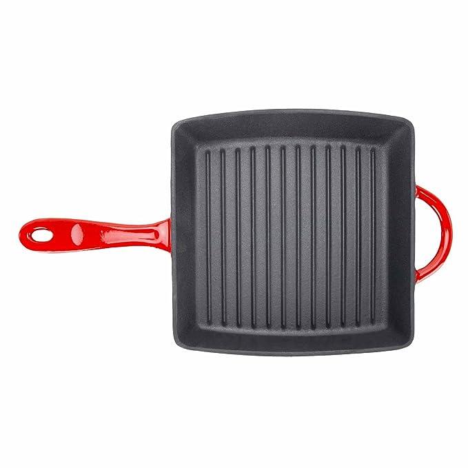 Amazon.com: zelancio Cookware – Sartén parrilla (Hierro ...