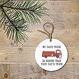 Firefighter Fireman Christmas Ornament