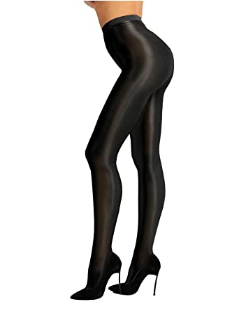 Silk silky waist Pantyhose sheer to