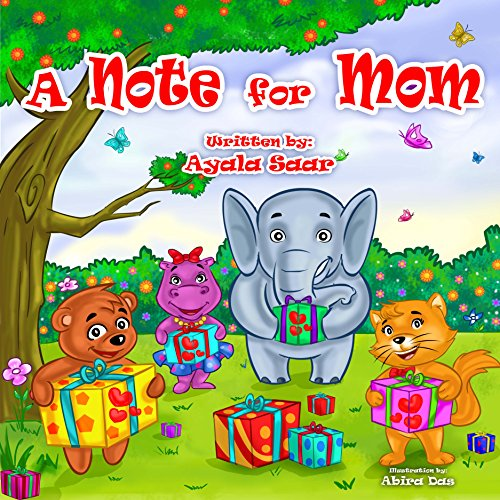 Childrens book Preschool story mammals learning ebook product image
