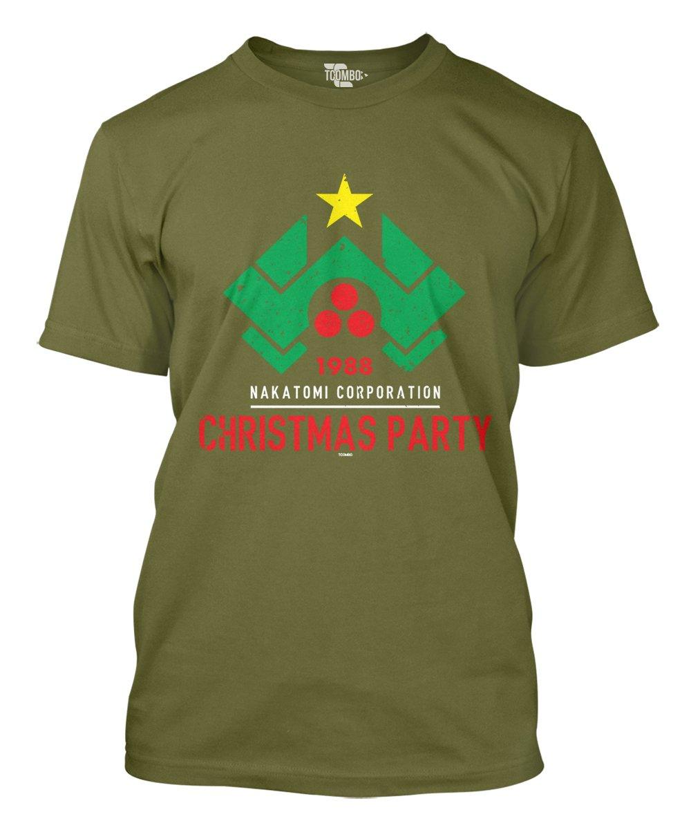 Amazon.com: 1988 Christmas Party Nakatomi Men\'s T-shirt: Clothing