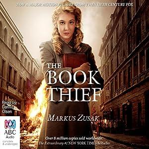 The Book Thief Audiobook | Markus Zusak | Audible.com.au