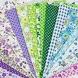 """150Pcs 4"""" x 4"""" (10cm x 10cm) Cotton Craft Fabric"""