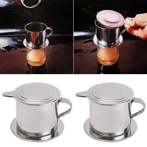 Filtro de café vietnamita cafetera eléctrica prensa vietnamita ...