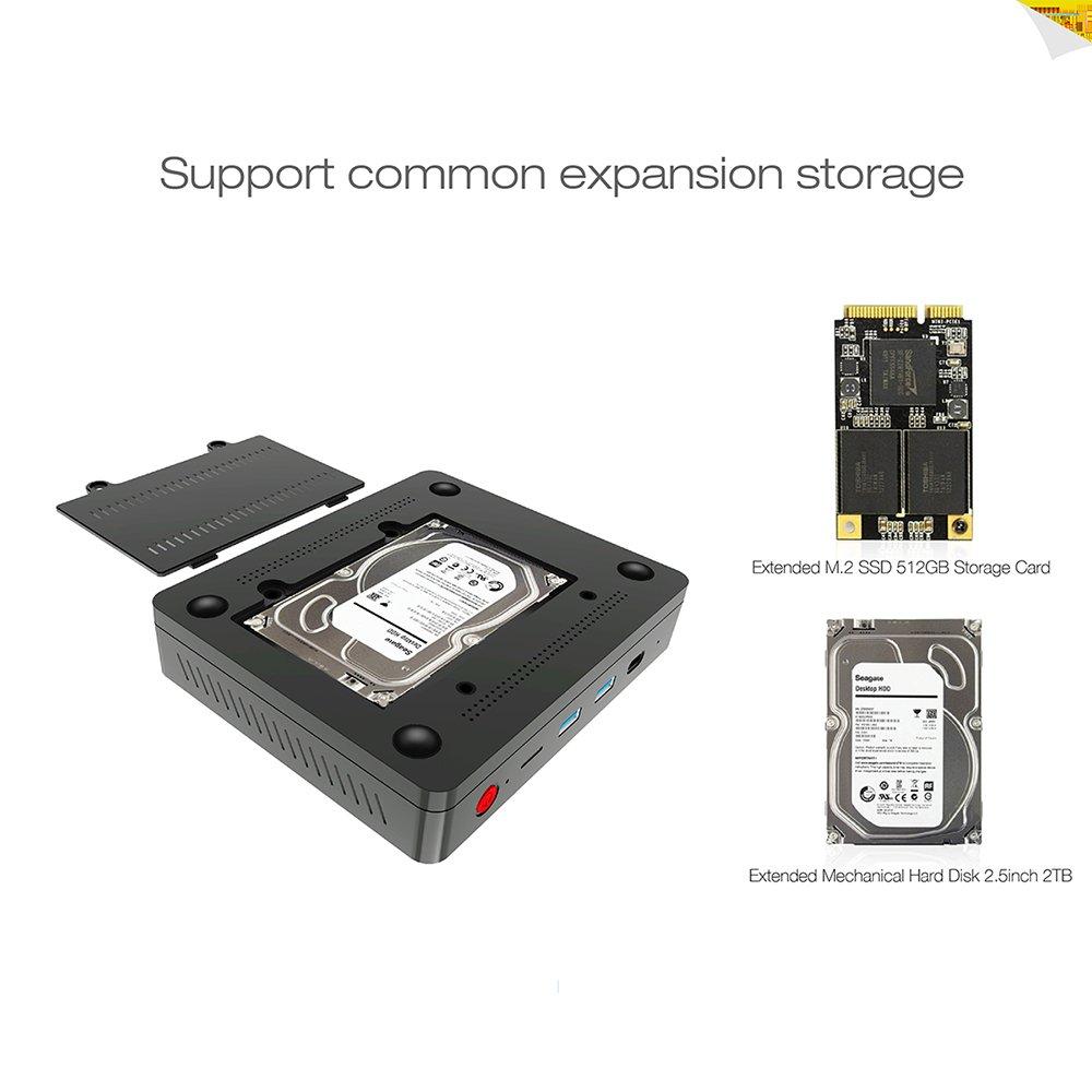 Beelink S1 con slot per disco fisso supplementare SSD o HDD