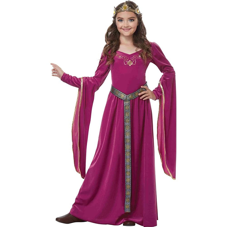 Amazon Big Girls Alessandra The Crimson Princess Costume