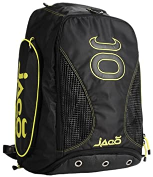 59087b239d Jaco Convertible Equipment Bag 2.0 MMA Duffelbag Backpack (Black SugaFly  Yellow)