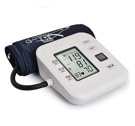 Beau Health Tensiómetro Digital automático Brazo BP Monitor Manguito 8 hasta 16 Pulgadas con Pantalla Grande