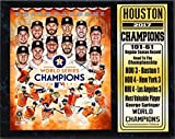 Encore 12x15 Stat Plaque - 2017 World Series Champion Houston Astros
