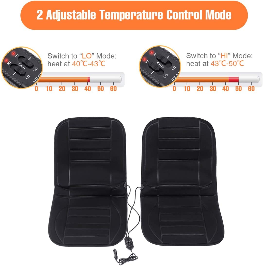 Amazon.com: Tvird - Cojín calentador para asiento de coche ...
