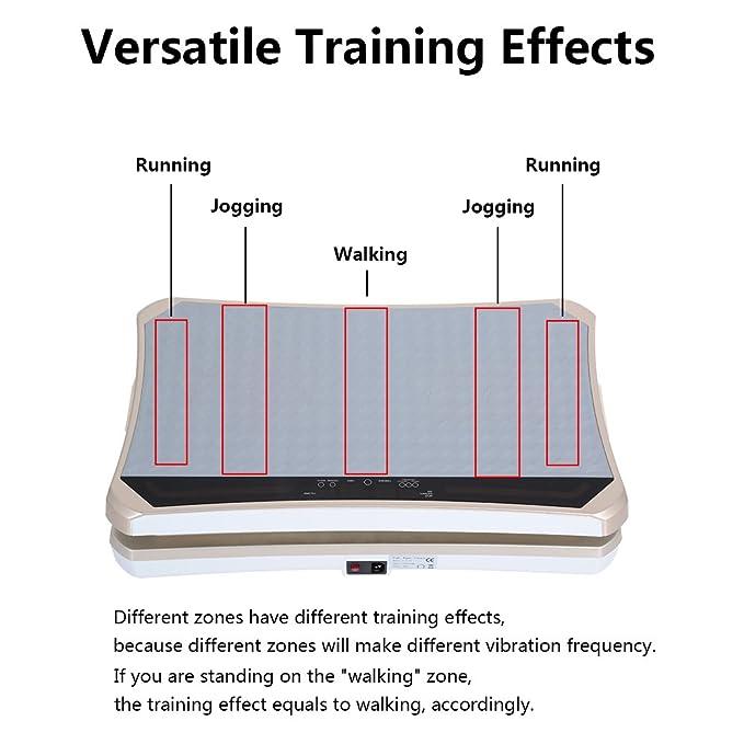 Amazon.com: tomshoo Fitness plataforma de vibración Body ...