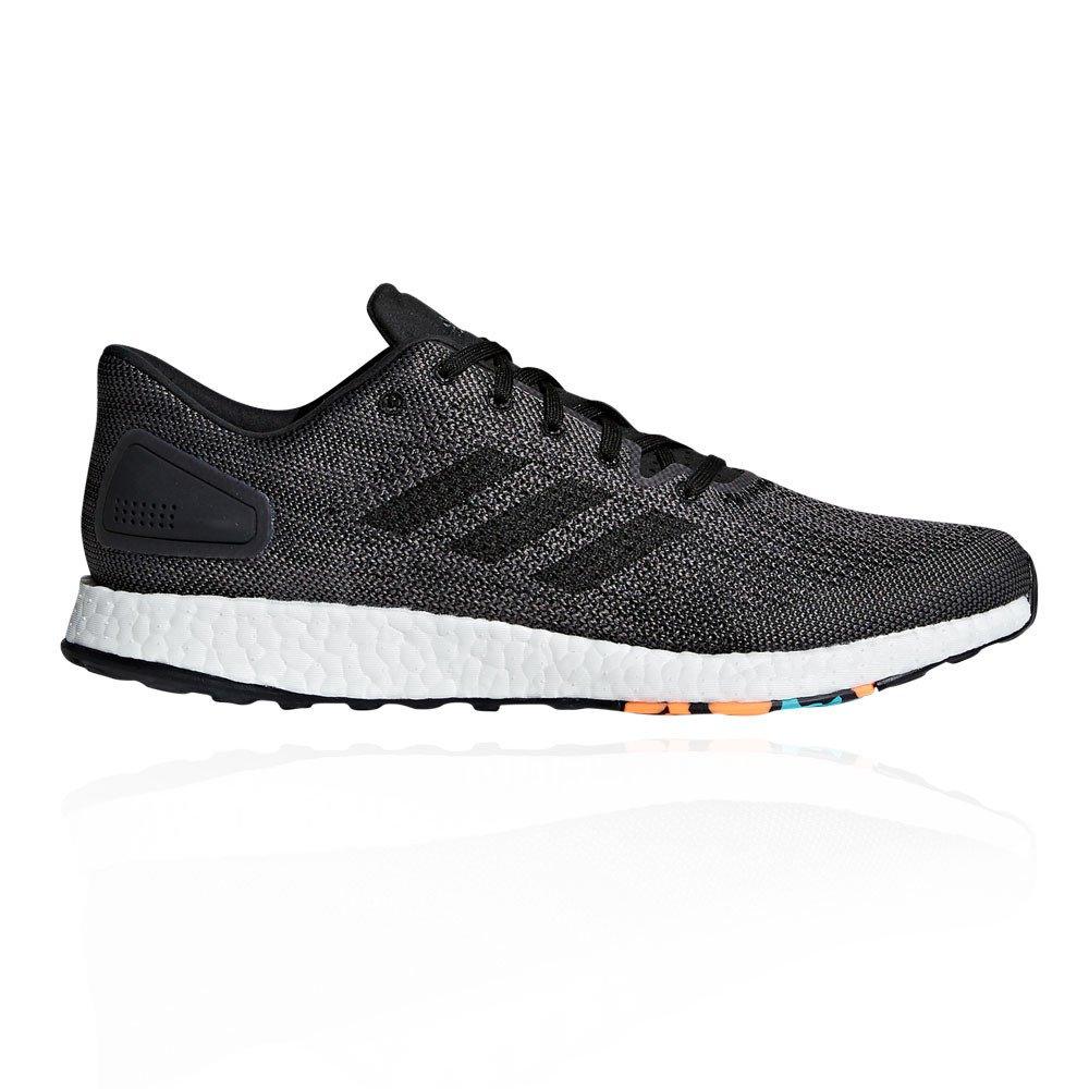 Adidas Pureboost DPR, Zapatillas de Running para Hombre 36 EU|Negro (Core Black/Core Black/Dgh Solid Grey)