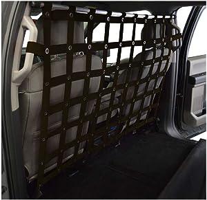 Dirtydog 4x4 Pet Divider fits Ford Crew Cab Pickup - Black