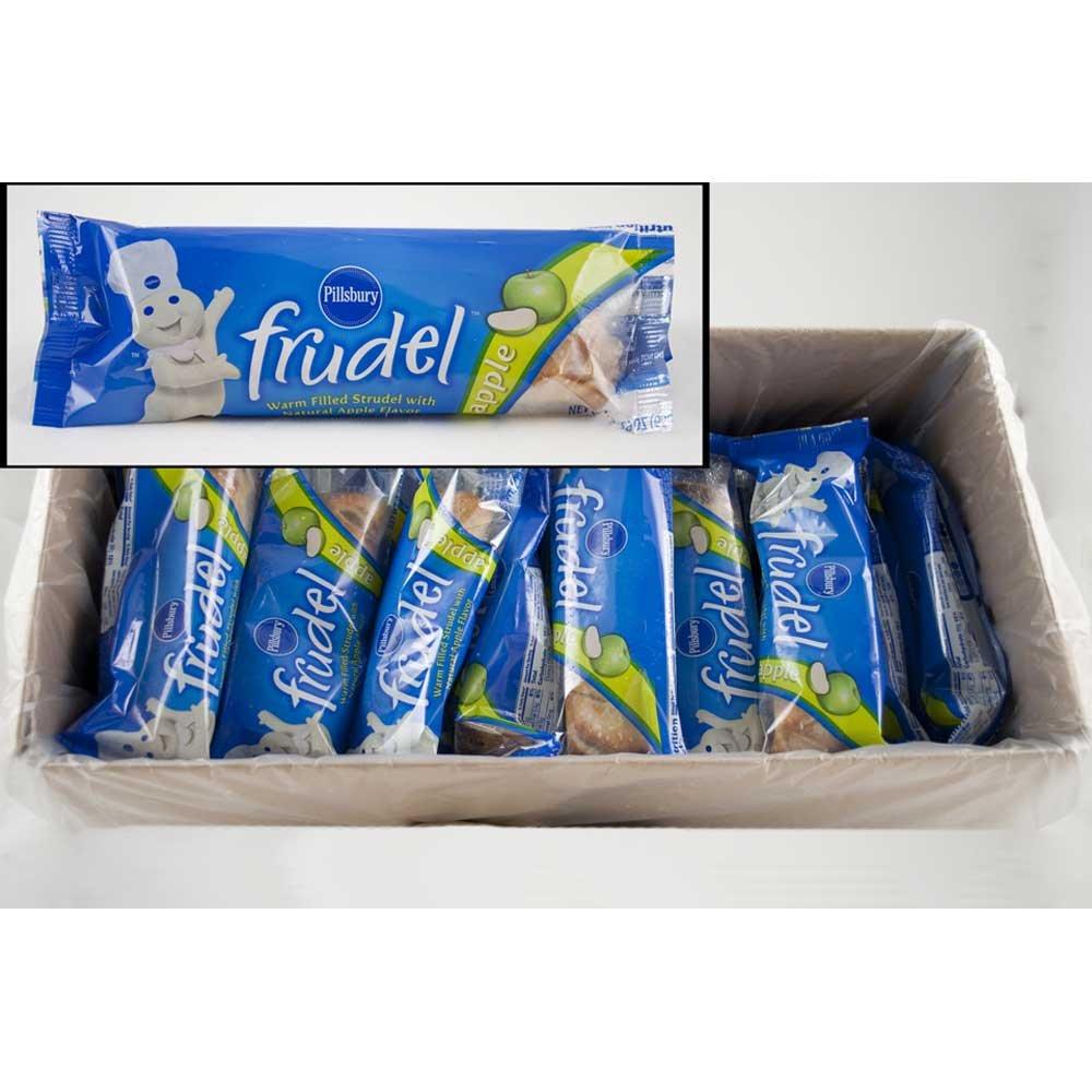 Pillsbury Frudel Apple Wrap Strudel, 2.29 Ounce - 72 per case.