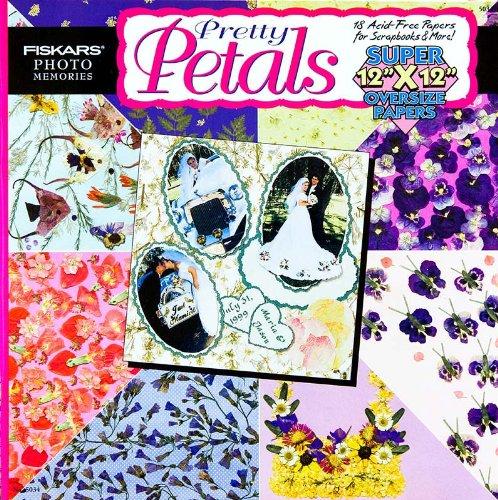 Price comparison product image Petals Vol. 5034: 18 Acid-Free Papers for Scrapbooks & More!