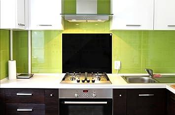 Paraschizzi / Pannello in vetro di protezione per cucina / Anti ...