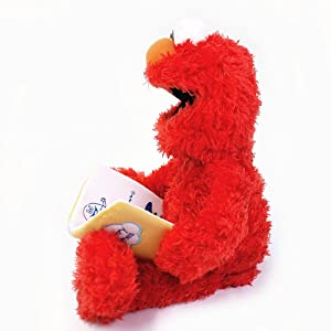 Sesame Street Nursery Rhyme Elmo 15 Plush (Color: Red, Tamaño: 15 inches)