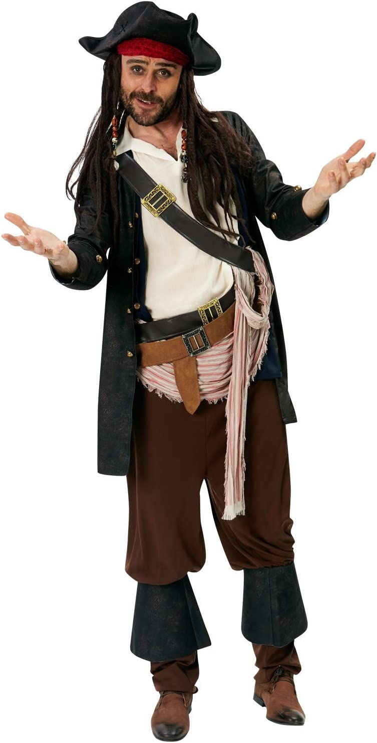 Rubies s oficial de Disney Jack Sparrow disfraz de – de piratas ...