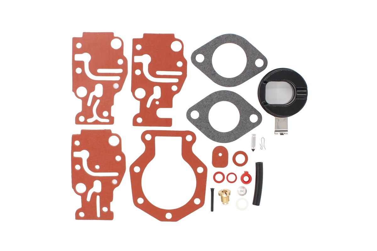 Amazon com: NewYall BRP/OMC Carburetor Rebuild Carb Repair Kit for
