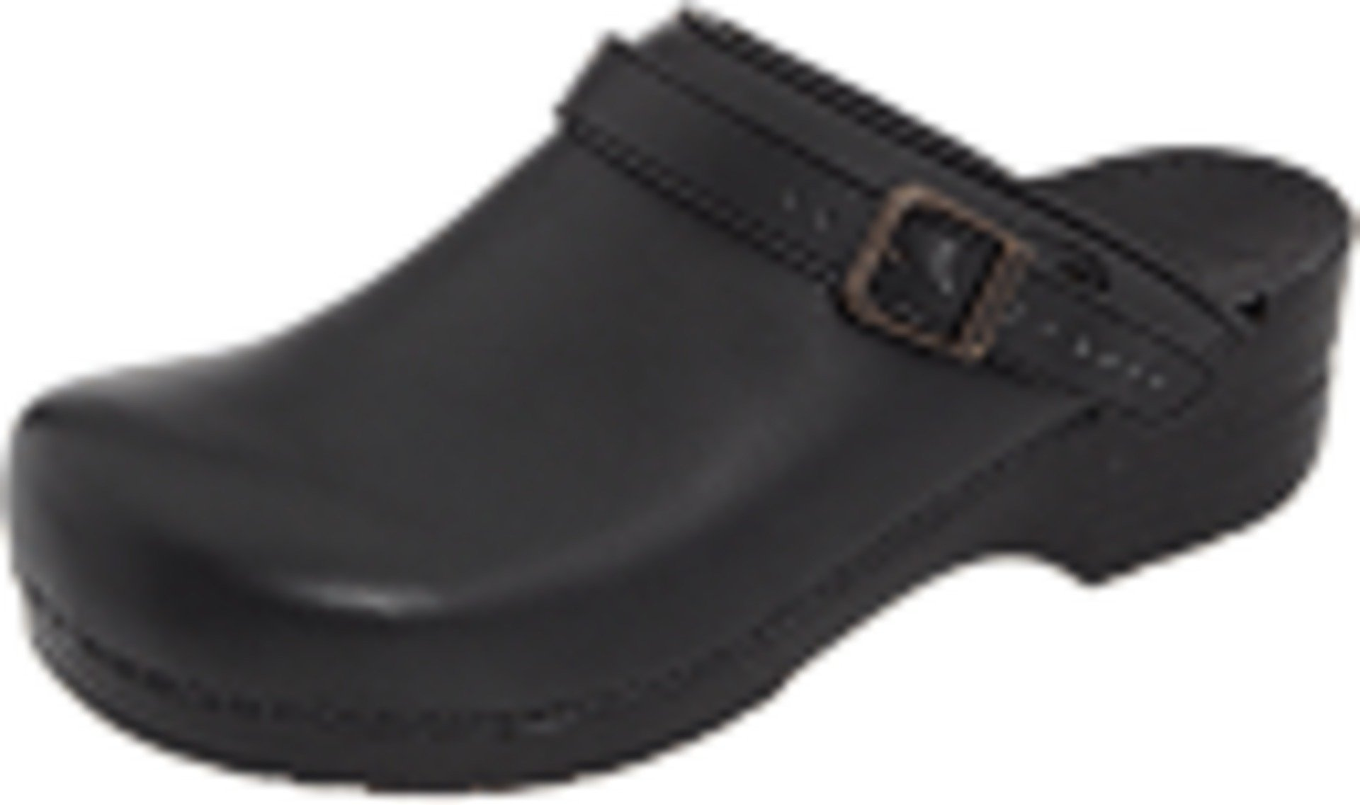 Dansko Shoes Womens Clogs Ingrid Leather Stability 35 Black 38020202 by Dansko