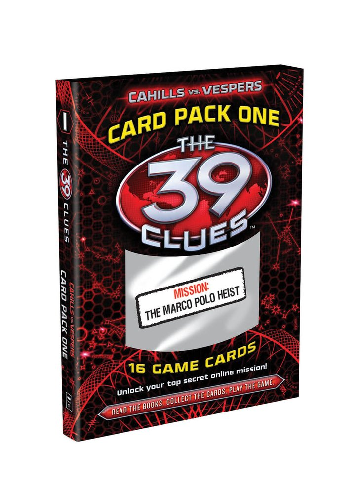 Read Online The Marco Polo Heist (The 39 Clues: Cahills Vs. Vespers: Card Pack 1) pdf